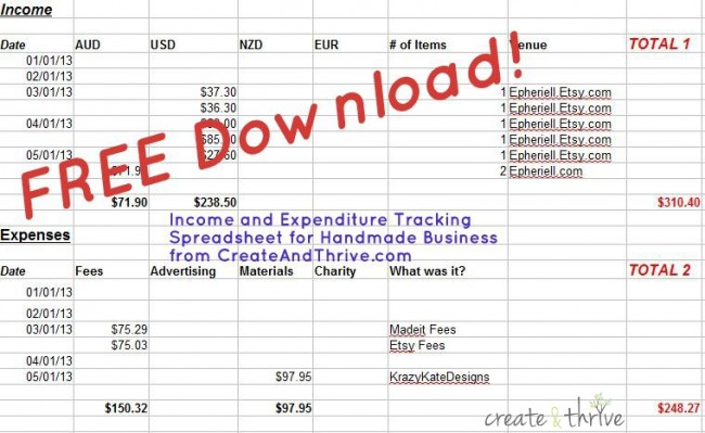 How do you Track your Income and Expenditure? (+ Bonus ...