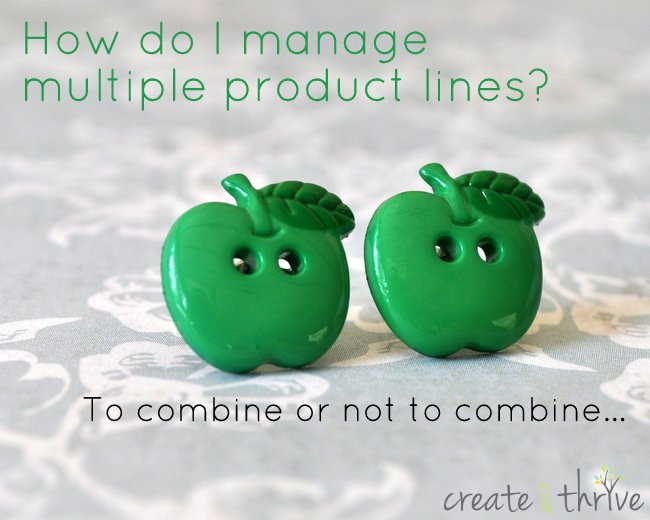 how do I manage multiple product lines?