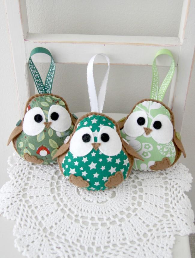 3 green robins