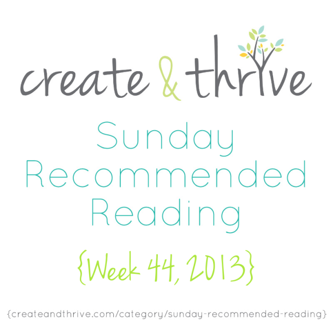 C&T Recommended Reading Week 44