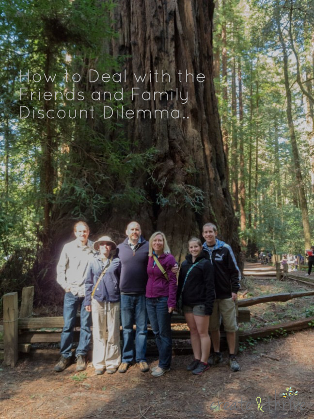My current 'immediate' family checking out the redwood forests.