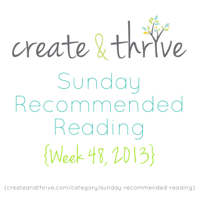 C&T Recommended Reading Week 48 2013