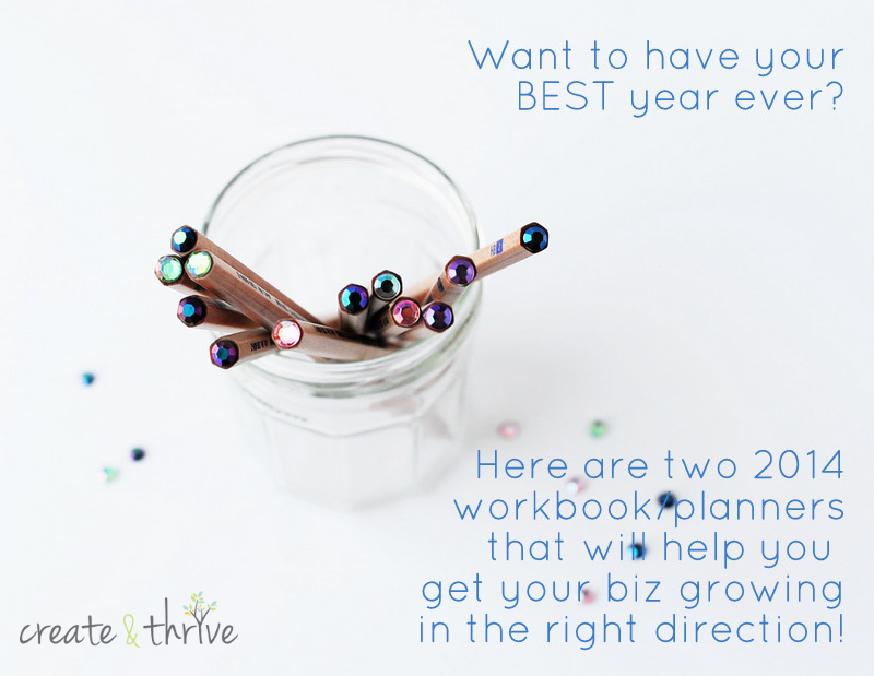 two 2014 workbooks planners for your best ever year in business