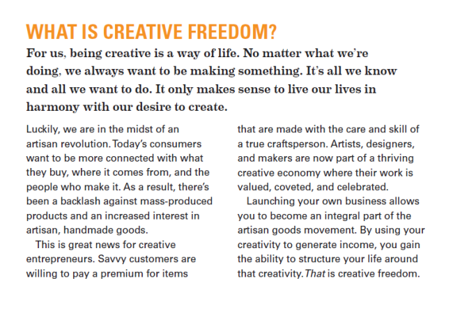Creative Freedom - Designed to Sell - Review by Create & Thrive