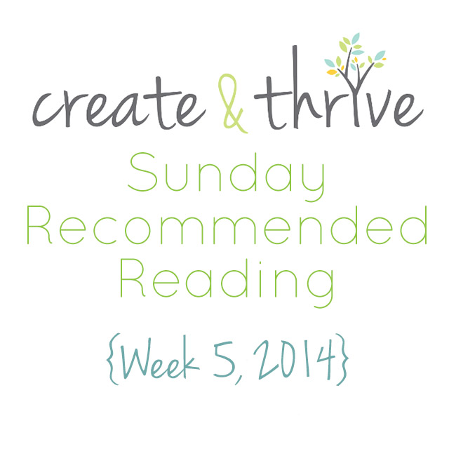 recommended reading week 5