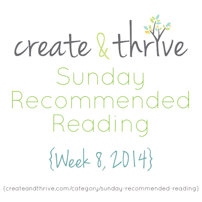 recommended reading week 8