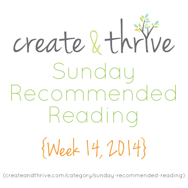 recommended reading week 14