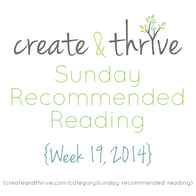 recommended reading week 19