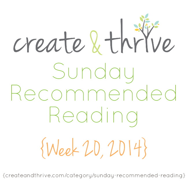 recommended reading week 20