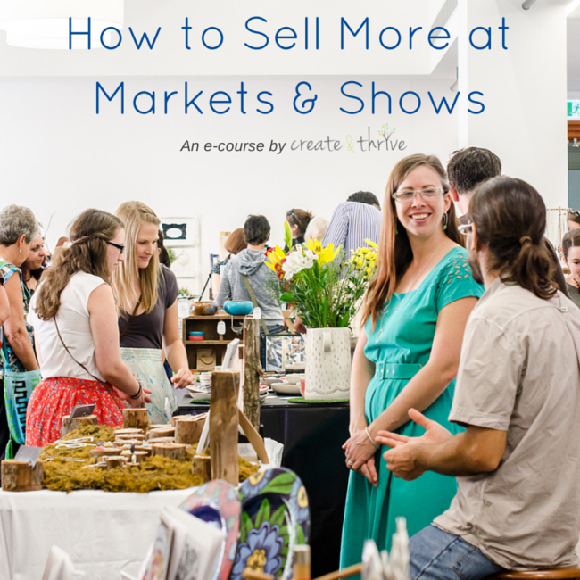 How to Sell More at Markets & Shows - Square Image 1