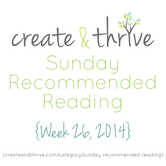 recommended reading week 26
