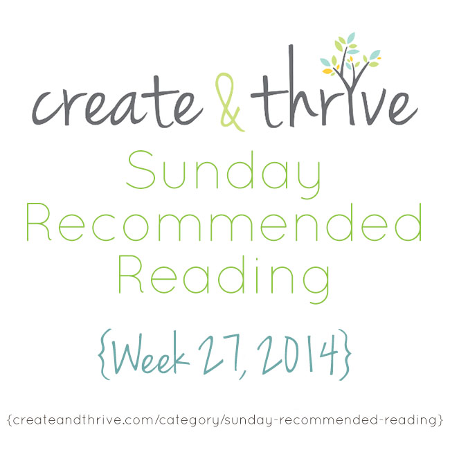 recommended reading week 27