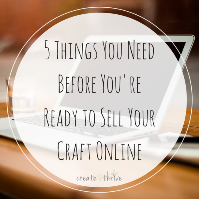 5 Things You Need Before You're Ready to
