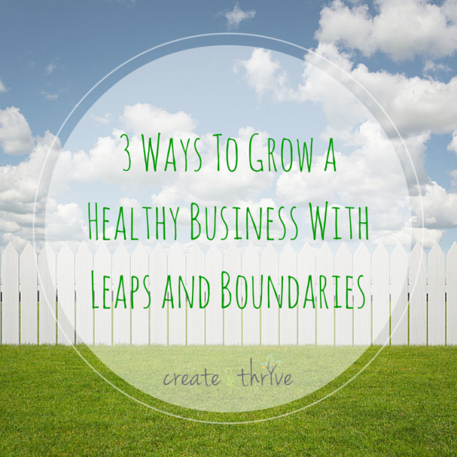 3 Ways To Grow a Healthy Business With