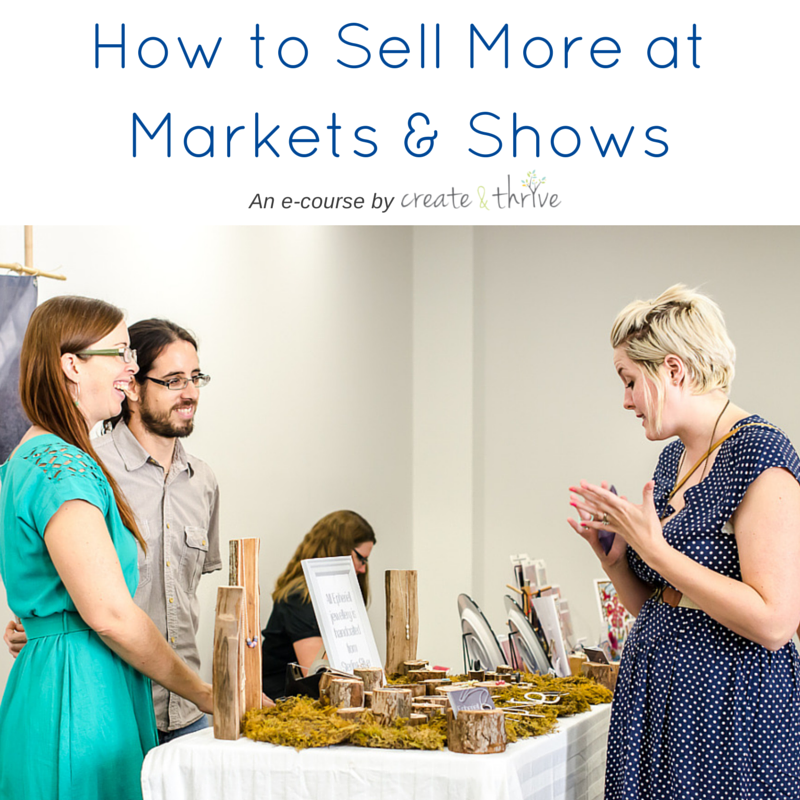 How to Sell More at Markets & Shows - Square Image 2