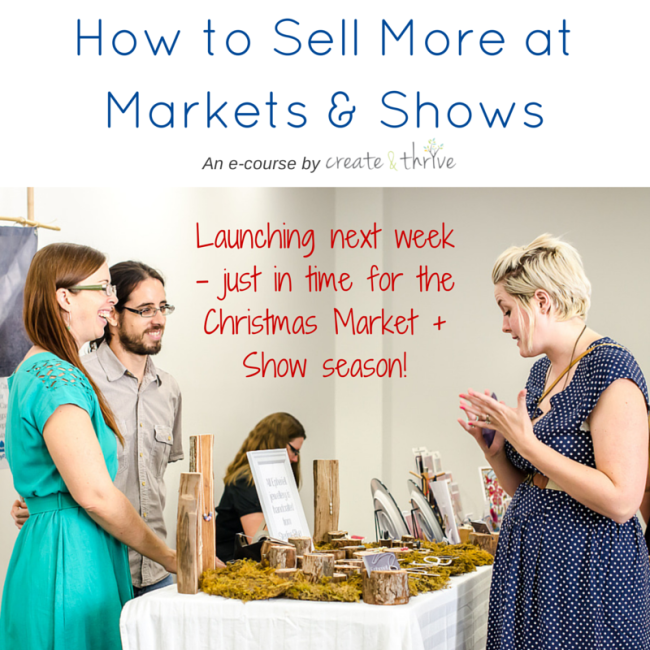 How to Sell More at Markets & Shows - Square Launching next week