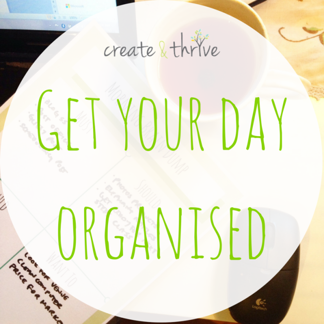 Get your day organised (2)