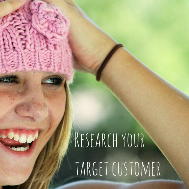 Research your target customer