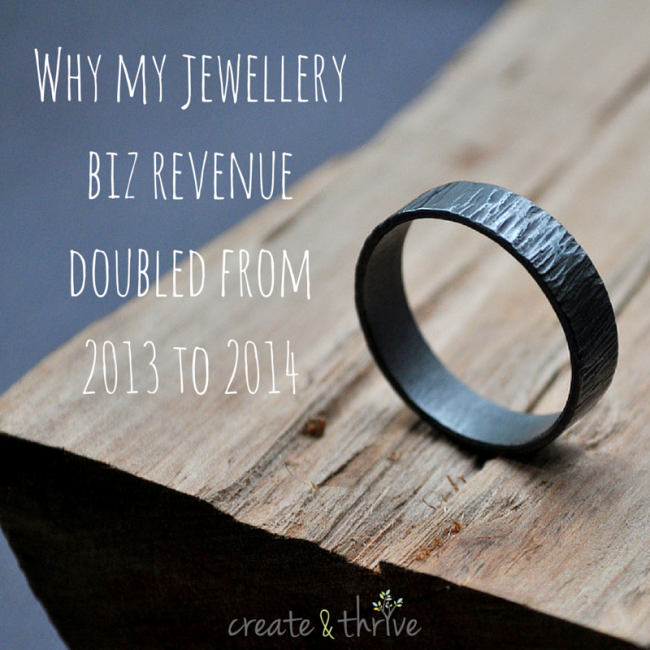 Why my jewellery biz revenue doubled