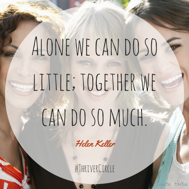 Alone we can do so little; together we can do so much. - Helen Keller #quote #alone #together #community