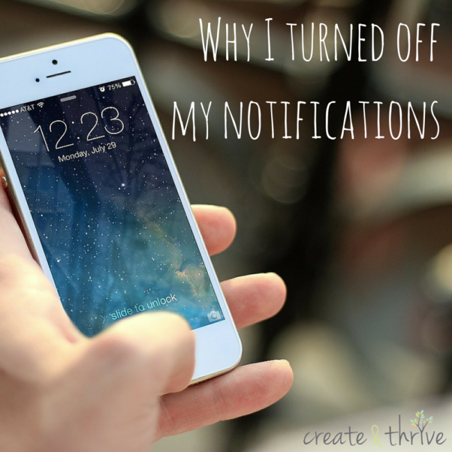 Why I turned off my notifcations (1)