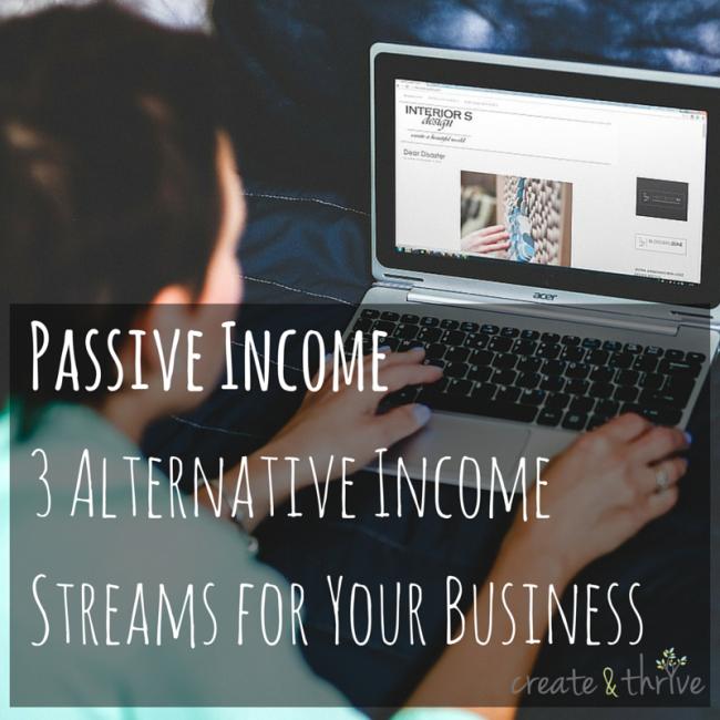 Passive Income3 Alternative Income