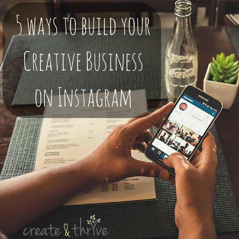 how to create creative in picture in instagram