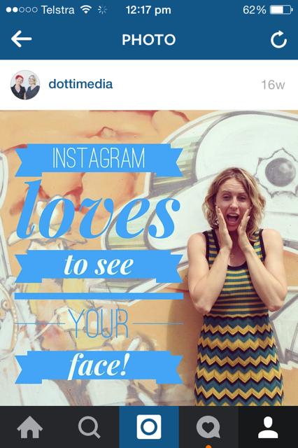 Instagramlovestoseeyourface
